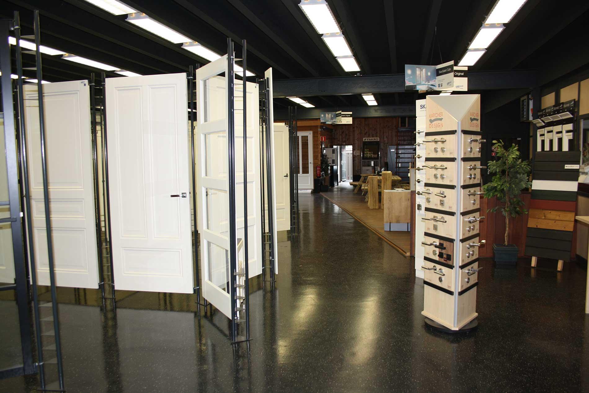 houthandel van wanrooij showroom